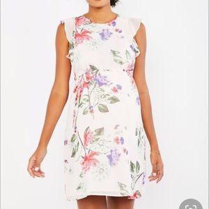 Motherhood maternity floral dress